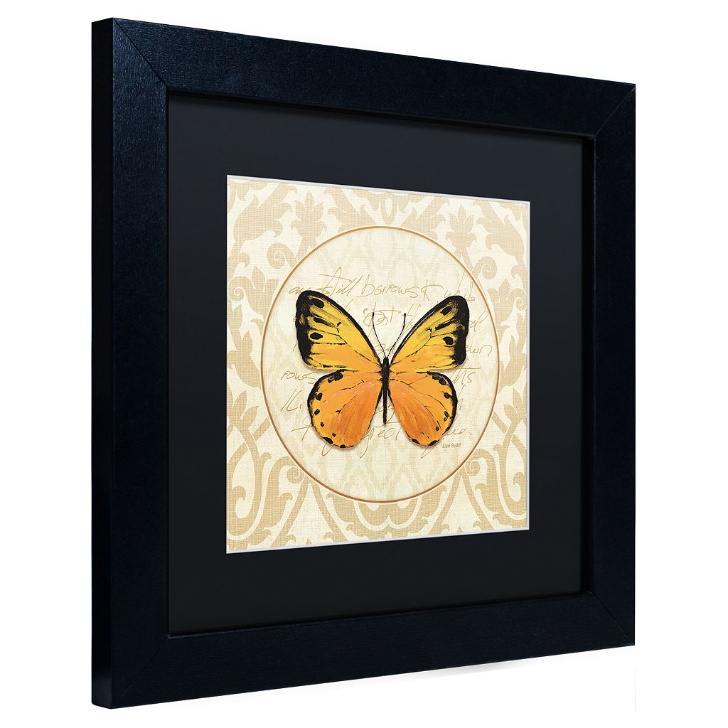 Trademark Fine Art End of Summer V Black Framed Wall Art