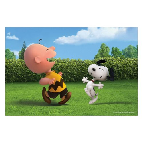 Peanuts Dancing Canvas Wall Ar...
