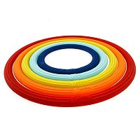 Fiesta 5 pc Silicone Trivet Set