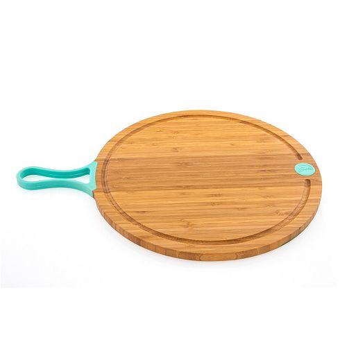 Fiesta 14-in. Bamboo Paddle Chopping Board