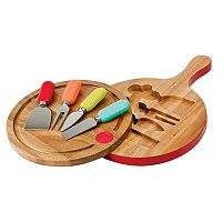 Fiesta 6 pc Cheese Board Set
