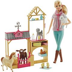 Barbie Careers Farm Vet Playset