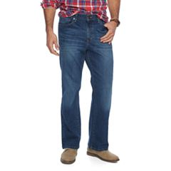 Men's SONOMA Goods for Life® Flexwear Relaxed-Fit Stretch Jeans