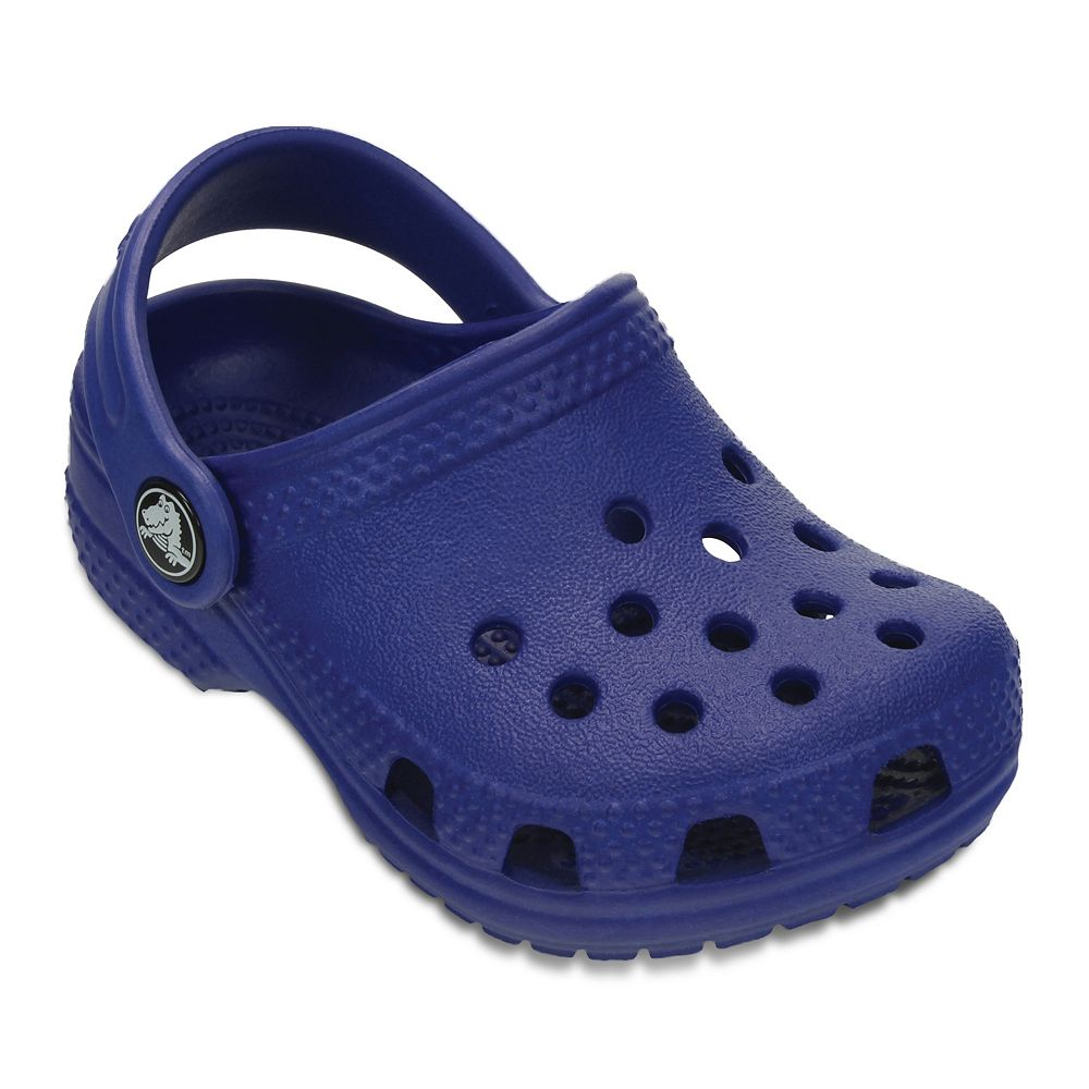 crocs littles unisex kinder clogs blau cerulean blue 17 19 eu botschaft. Black Bedroom Furniture Sets. Home Design Ideas