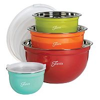 Fiesta 8 pc Mixing Bowl Set