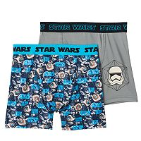Boys Star Wars 2-Pack Boxer Briefs