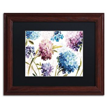 Trademark Fine Art Spring Nectar I Framed Wall Art