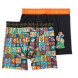 Boys Super Mario 2-Pack Boxer Briefs