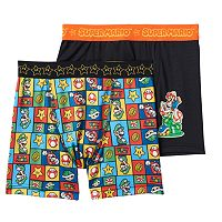 Boys Super Mario 2-Pack Boxer Briefs