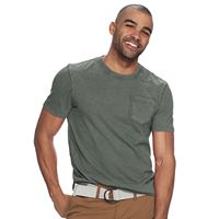 Men's SONOMA Goods for Life™ Sun-Washed Short Sleeve Pocket Tee