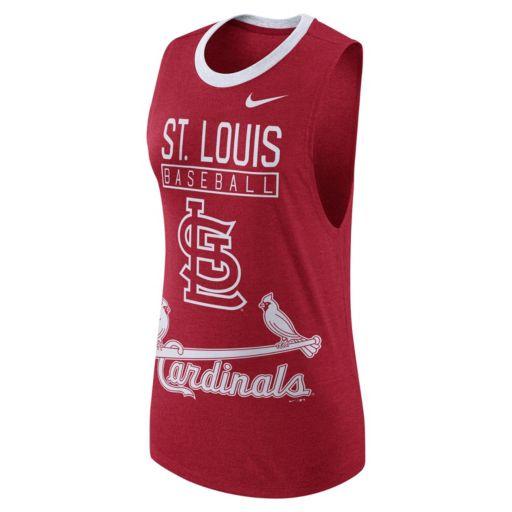 Women's Nike St. Louis Cardinals Tri-Blend Tank