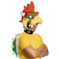 Adult Super Mario Brothers Bowser Costume Accessory Kit