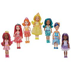 Barbie Rainbow Cove 7 Doll Gift Set by