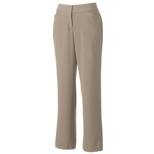 Women's Dana Buchman Curvy Fit Dress Pants
