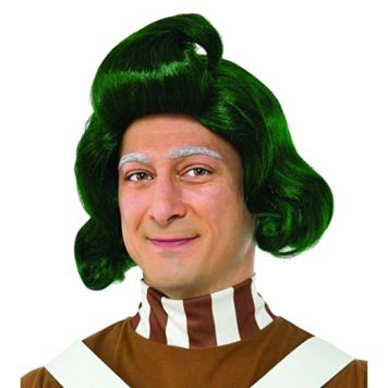Adult Willy Wonka & the Chocolate Factory Oompa Loompa Costume Wig