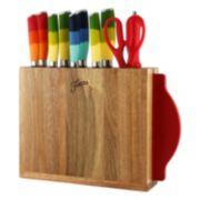 Fiesta 12-pc. Forged Knife Block Set