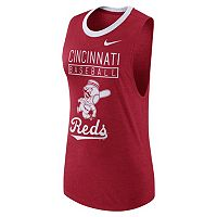 Women's Nike Cincinnati Reds Tri-Blend Tank