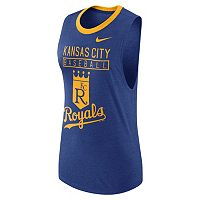 Women's Nike Kansas City Royals Tri-Blend Tank