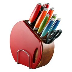 Fiesta Ombre 12 pc Knife Block Set