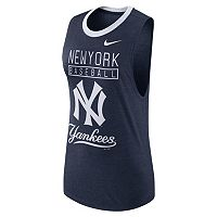 Women's Nike New York Yankees Tri-Blend Tank