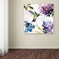 Trademark Fine Art Spring Nectar Square II Canvas Wall Art
