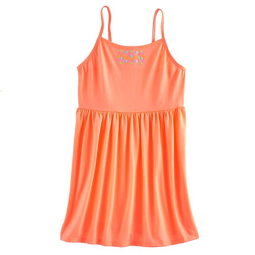Girls 7-16 SO® Embellished Swim Cover Up