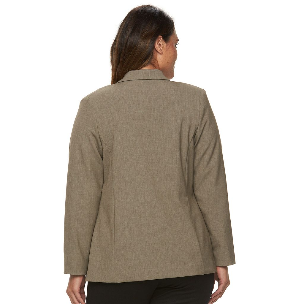 Plus Size Briggs Bi-Stretch Solid Jacket