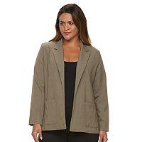 Plus Size Briggs Bi-Stretch Solid Jacket