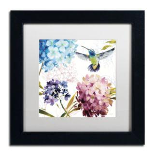 Trademark Fine Art Spring Nectar Square III Black Framed Wall Art