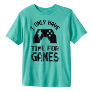 Boys 8-20 Video Game Controler Tee