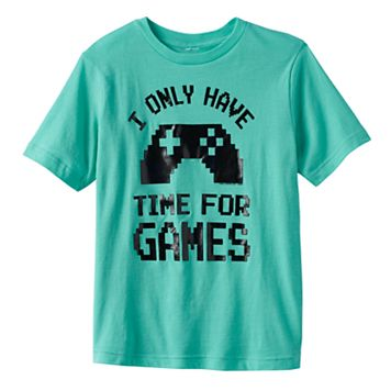 Boys 8-20 Video Game Controler Tee