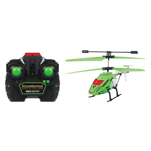 World Tech Toys Night Copter Glow-In-The-Dark Remote Control Helicopter
