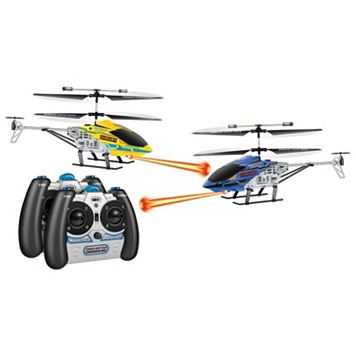 World Tech Toys Nano Battle Hercules Laser Tag Remote Control Helicopter Set (2-Pack)