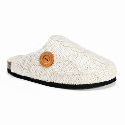 MUK LUKS Women's Cable Knit Cl...