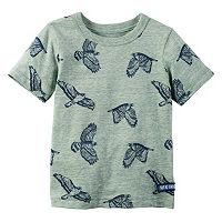 Baby Boy Carter's Animal Pattern Screen-Printed Tee