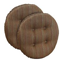 The Gripper Scion Tufted Bar Stool Chair Pad 2-pk.