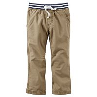 Baby Boy Carter's Canvas Utility Pants