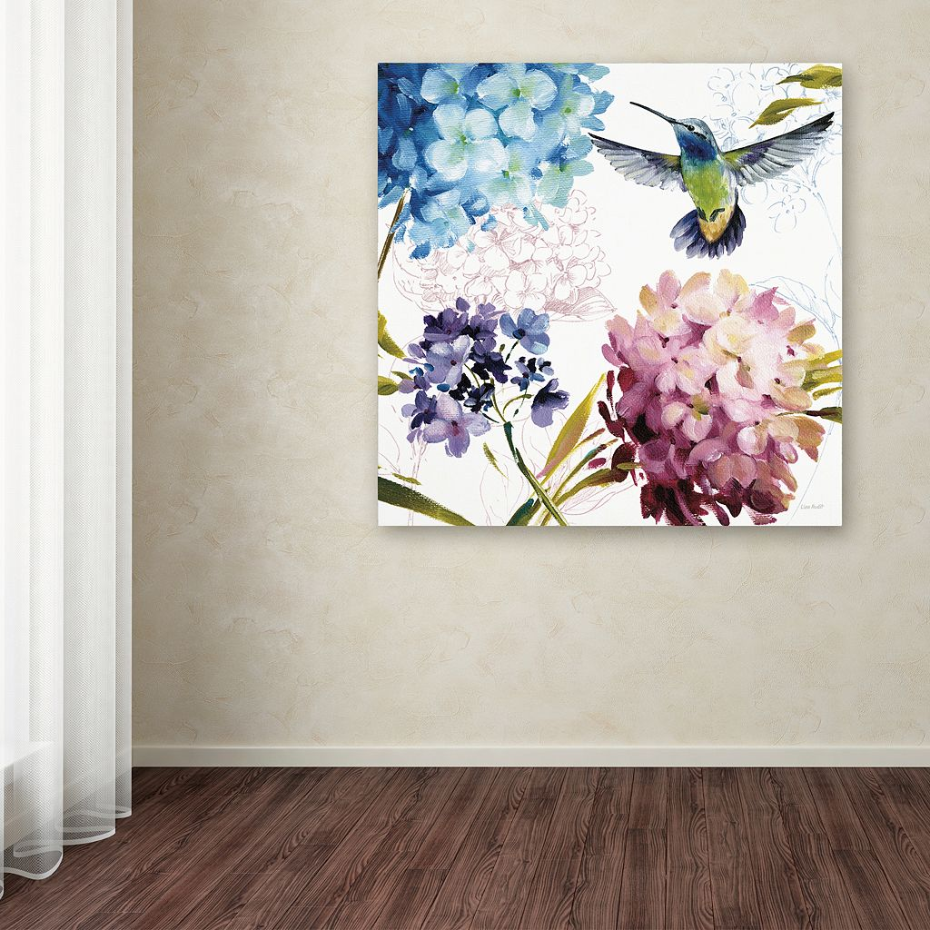 Trademark Fine Art Spring Nectar Square III Canvas Wall Art