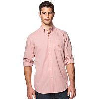 Big & Tall Chaps Classic Fit Easy-Care Poplin Shirt