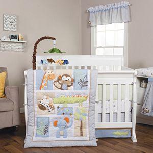 Trend Lab Jungle Fun 6-pc. Crib Bedding Set