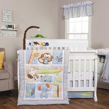 Trend Lab Jungle Fun 6 Pc Crib Bedding Set