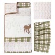 Trend Lab Deer Lodge 3-pc. Crib Bedding Set