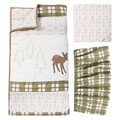 Trend Lab Deer Lodge 3 pc Crib Bedding Set