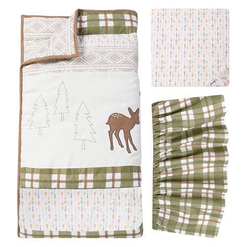 Trend Lab Deer Lodge 3-pc. Crib Bedding Set