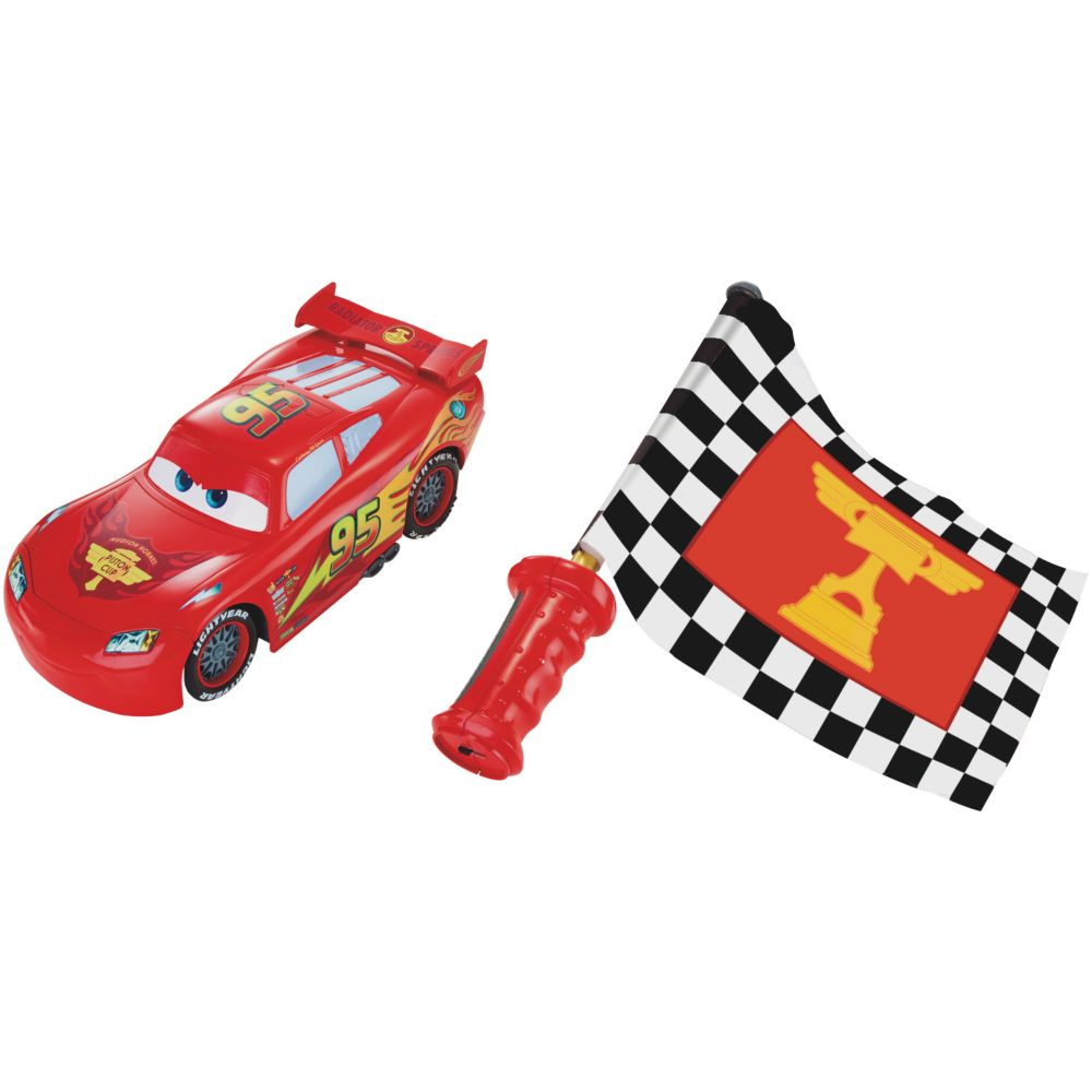 Disney Pixar S Cars Remote Control Flag Finish Lightning Mcqueen