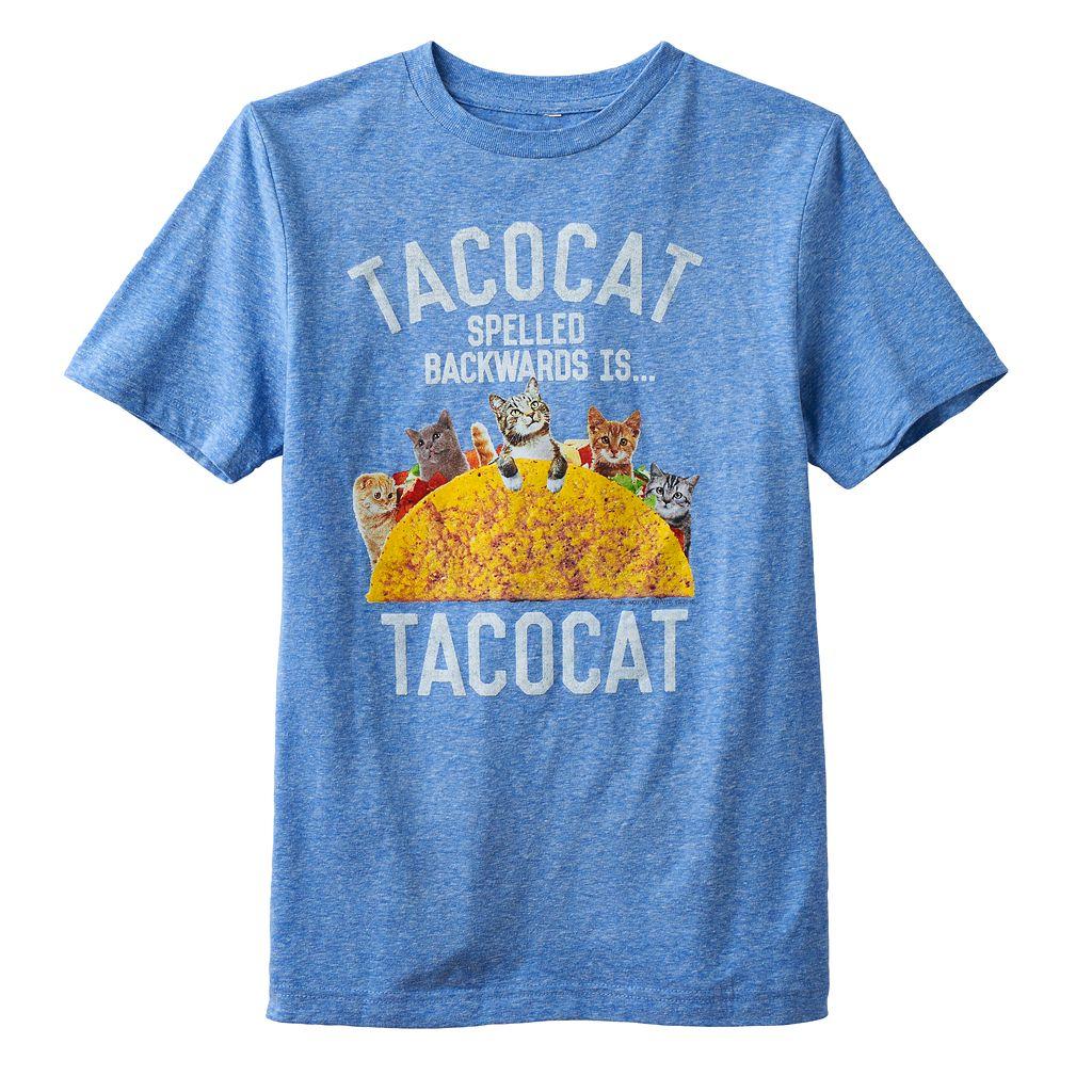 Boys 8-20 Tacocat Backwards Tee