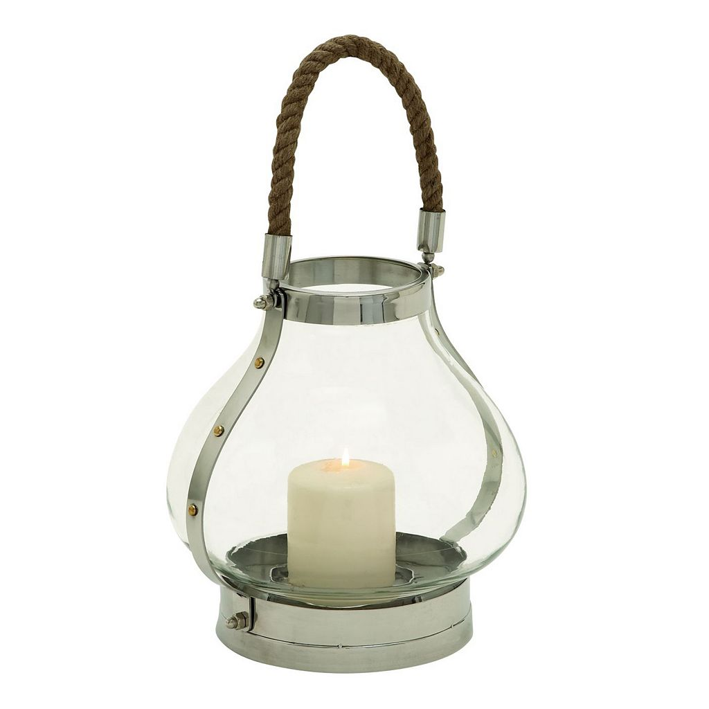 Classic Modern Glass Lantern Candle Holder
