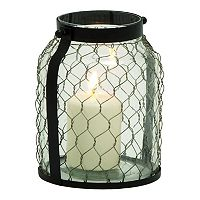 Farmhouse Jar Lantern Candle Holder