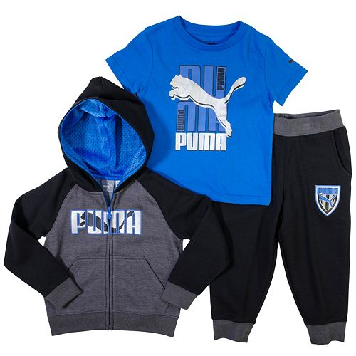 044d890a00 Toddler Boy PUMA Hoodie, Tee & Jogger Pants Set