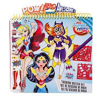 DC Super Hero Girls Fashion Sketch Portfolio